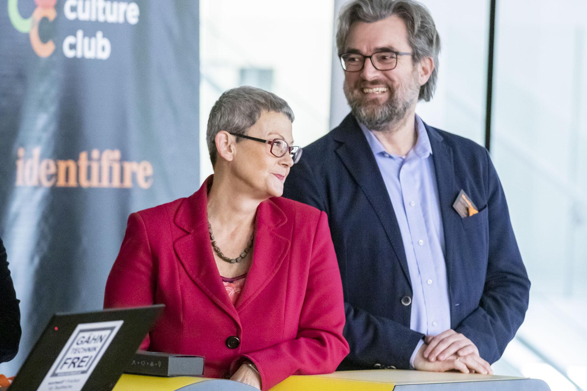identifire corporate culture club mitglieder Irmgard Zirkler und Johannes Angerer