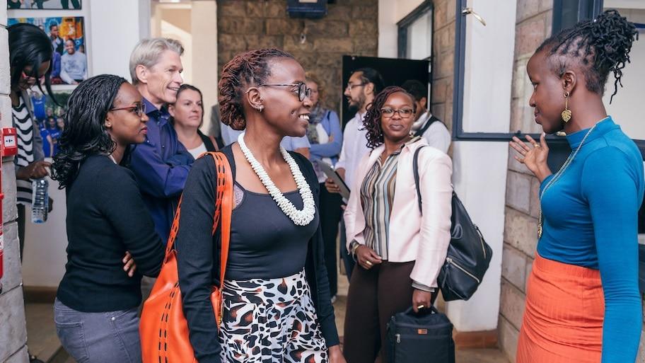 Learning Journey ins Silicon Savannah, Nairobi Kenia von NextAfrica identifire