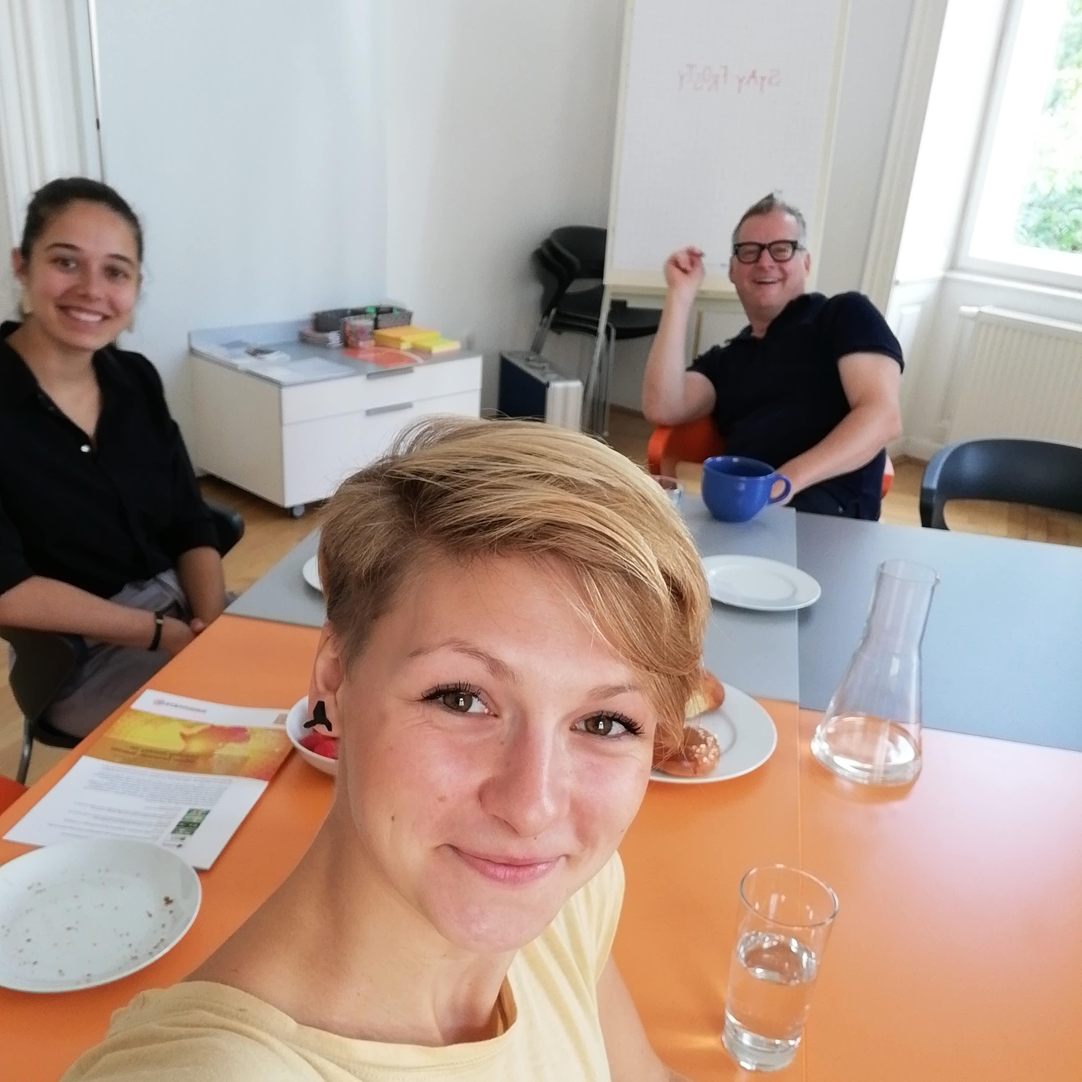 Identifire Büro Wien Mariahilferstraße Teamfoto