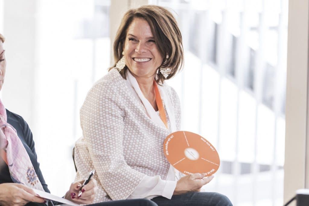 Monika Kriwan Employer Value Proposition Frisbee für Jobbotschafter
