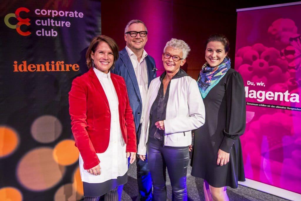corporate culture club bei magenta vortragende monika kriwan-ralf tometschek-irmgard zirkler-alexandra eichberger