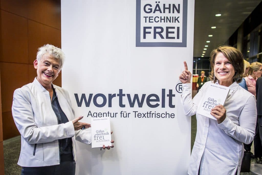 corporate culture club wortwelt gähntechnikfrei schreiben buchpräsentation monika kriwan irmgard zirkler