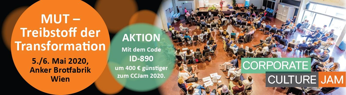 Corporate Culture Jam 2020 Wien Anker Brotfabrik Identifire Partner