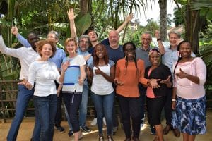 Gruppenfoto NextAfrica Learning journey silicon savannah nairobi
