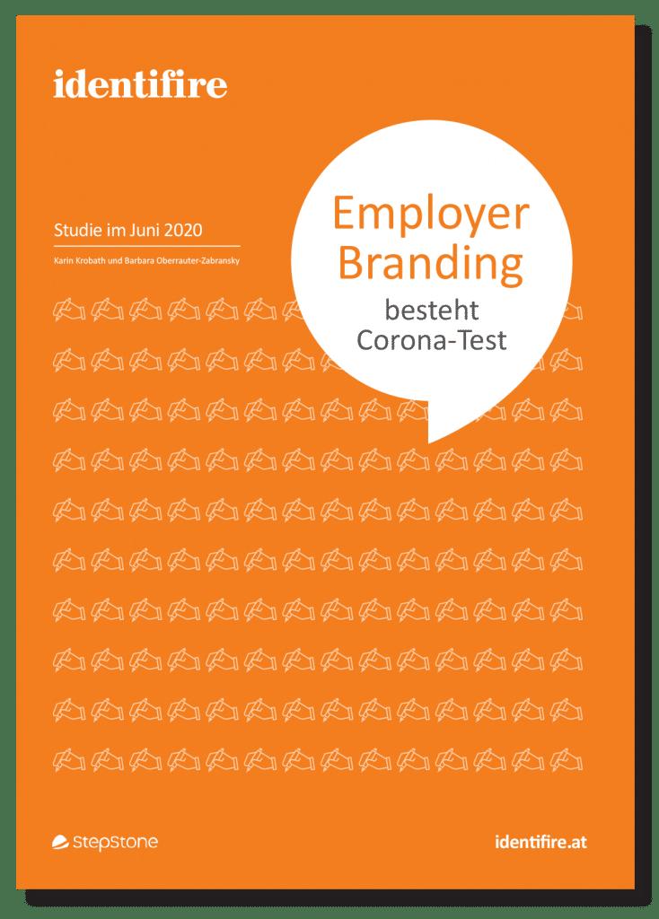 Cover Studie Employer Branding besteht Corona-Test identifire stepstone